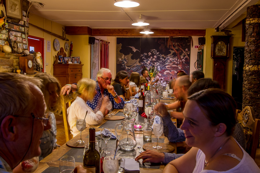 Good food, wine and a welcoming, convivial atmosphere